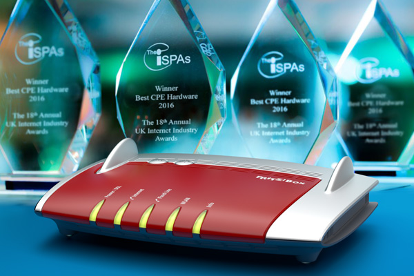 FRITZ!Box 7490 wins ISPA Award