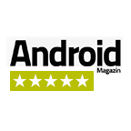 5 of 5 stars from Android Magazin