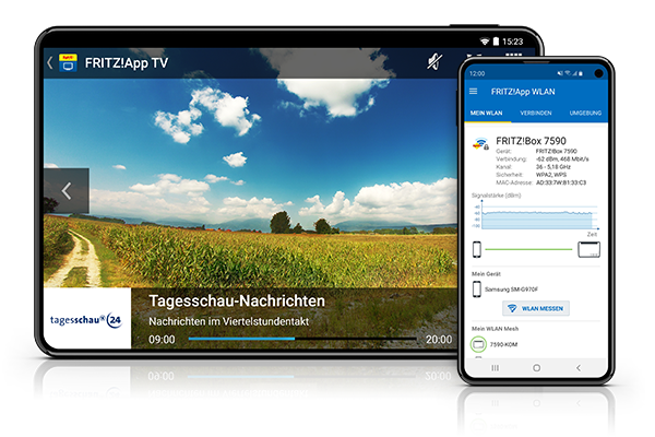 FRITZ!Apps for your smartphone and tablet | AVM International