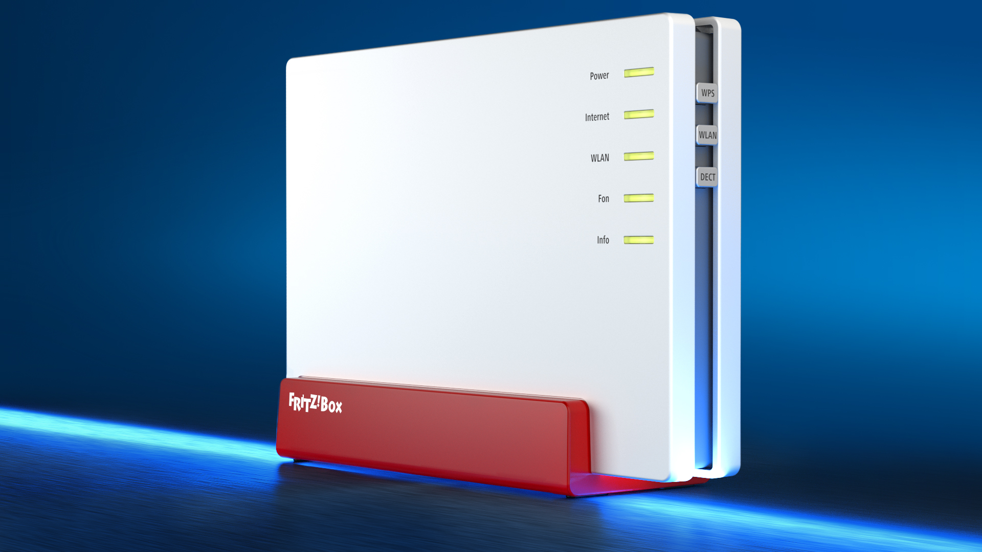 Fritz!Box WiFi Modem & Home Media Hub High-speed Internet for a host of applications.